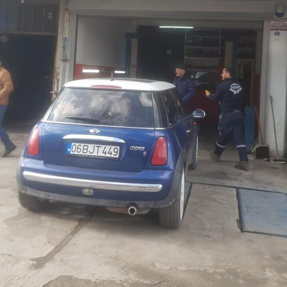 Mini Cooper Amortisör Tamiri Ankara